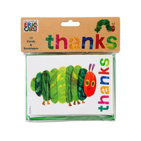 Talking Tables The Very Hungry Caterpillar Post Card Thank Yous with Envelope