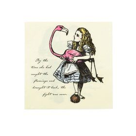 Talking Tables Truly Alice Lunch Napkin