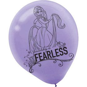 "Tangled 12"" Latex Balloons (6 Count)"
