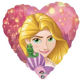 "Tangled 18"" Heart Balloon (Each)"