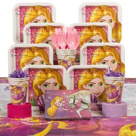 Tangled Deluxe Tableware Kit (Serves 8)