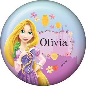Tangled Personalized Button (Each)