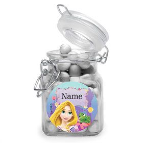 Tangled Personalized Glass Apothecary Jars (10 Count)
