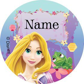 Tangled Personalized Mini Stickers (Sheet of 20)
