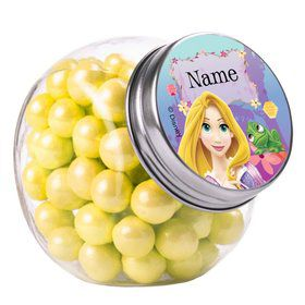 Tangled Personalized Plain Glass Jars (10 Count)