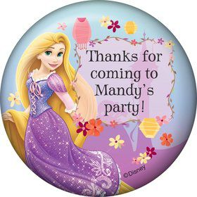 Tangled Personalized Stickers (Sheet Of 12)