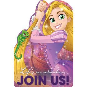 Tangled Postcard Invitations (8 Count)