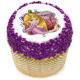 "Tangled Rapunzel 2"" Edible Cupcake Topper (12 Images)"
