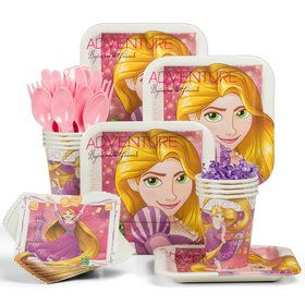 Tangled Standard Tableware Kit (Serves 8)
