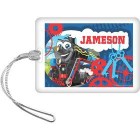 Tank Engine Personalized Bag Tag (each)