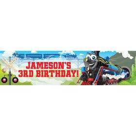 Tank Engine Personalized Banner (each)