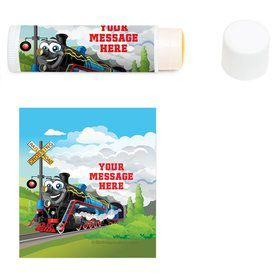 Tank Engine Personalized Lip Balm (12 Pack)