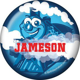 Tank Engine Personalized Mini Button (each)