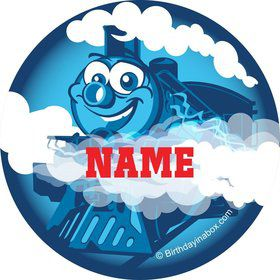 Tank Engine Personalized Mini Stickers (Sheet of 24)