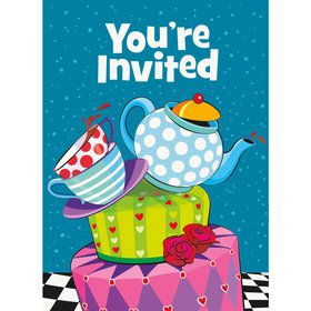 Tea Party Invitations (8 Pack)