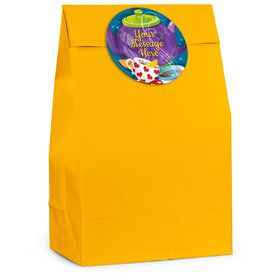 Tea Party Personalized Favor Bag (12 Pack)