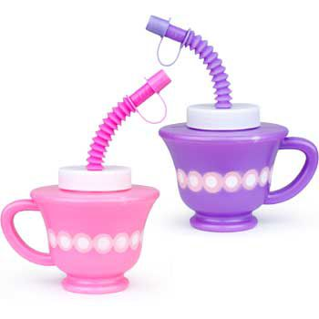 Teacup Sipper Cup (each) - Party Supplies BB021195