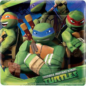 "Teenage Mutant Ninja Turtle 7"" Cake Plates (8 Pack)"