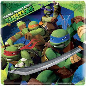 "Teenage Mutant Ninja Turtle 9"" Luncheon Plates (8 Pack)"