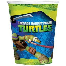 Teenage Mutant Ninja Turtle 9 oz Cups (8 Pack)