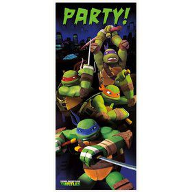 Teenage Mutant Ninja Turtle Door Poster