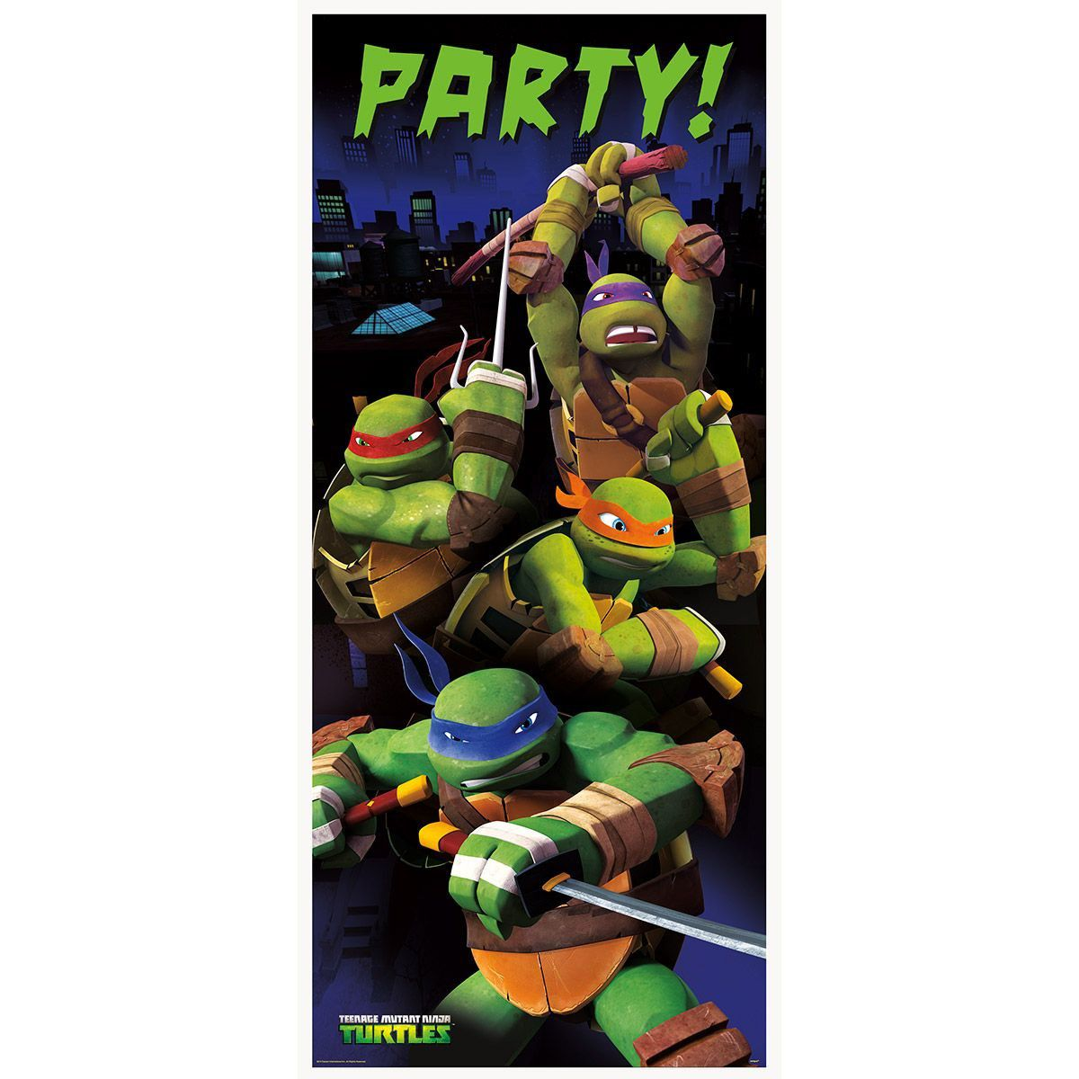 Ninja Turtle Birthday Party Decorations