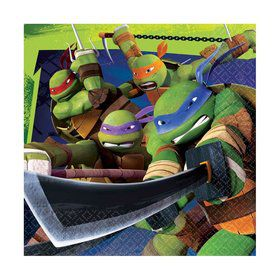 Teenage Mutant Ninja Turtle Lunch Napkins (16 Pack)