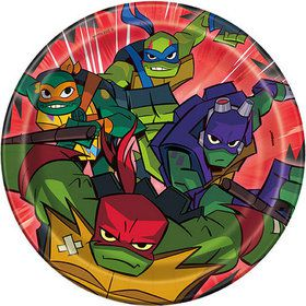 "Teenage Mutant Ninja Turtles 7"" Plates (8)"