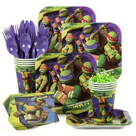 Teenage Mutant Ninja Turtles Birthday Party Standard Tableware Kit serves 8
