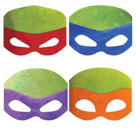 Teenage Mutant Ninja Turtles Masks (8)