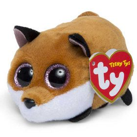 Teeny Ty Finley Fox Plush