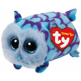 Teeny Ty Mimi Blue Owl Plush