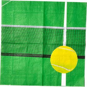 Tennis Party Beverage Napkins (16)