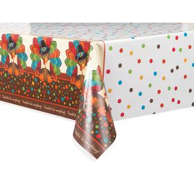 Thankful Turkey Table Cover