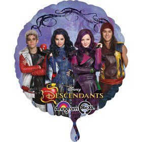 The Descendants Round Balloon