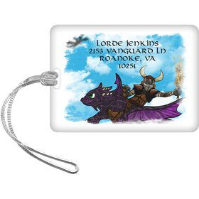 The Dragon Whisperer Personalized Bag Tag (Each)