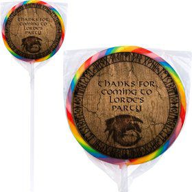 The Dragon Whisperer Personalized Lollipops (12 Pack)