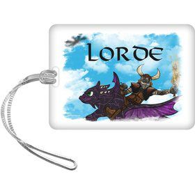 The Dragon Whisperer Personalized Luggage Tag (Each)