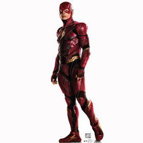 The Flash Cardboard Standee