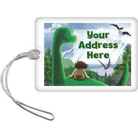 The Friendly Dinosaur Personalized Luggage Tag (Each)