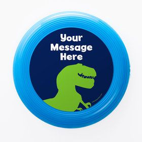The Friendly Dinosaur Personalized Mini Discs (Set of 12)
