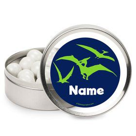 The Friendly Dinosaur Personalized Mint Tins (12 Pack)