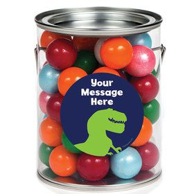The Friendly Dinosaur Personalized Paint Cans (6 Pack)