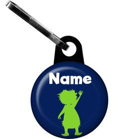The Friendly Dinosaur Personalized Zipper Pull (Each)