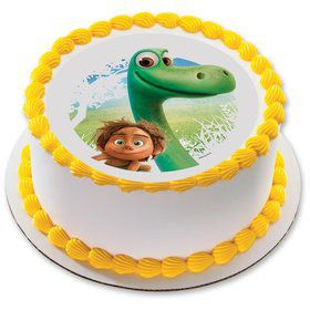 "The Good Dinosaur 7.5"" Round Edible Cake Topper (Each)"