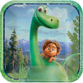 "The Good Dinosaur 9"" Luncheon Plate (8 Count)"