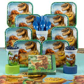 The Good Dinosaur Birthday Deluxe Tableware Kit Serves 8