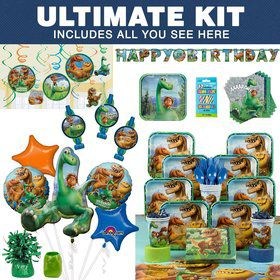 The Good Dinosaur Birthday Party Ultimate Tableware Kit Serves 8