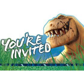 The Good Dinosaur Invitations (8 Count)