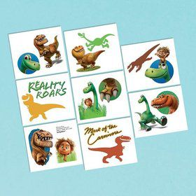 The Good Dinosaur Tattoos (16 Pieces)